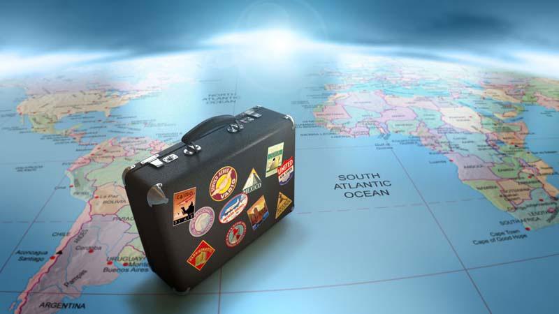 Valigie per viaggi intorno al mondo